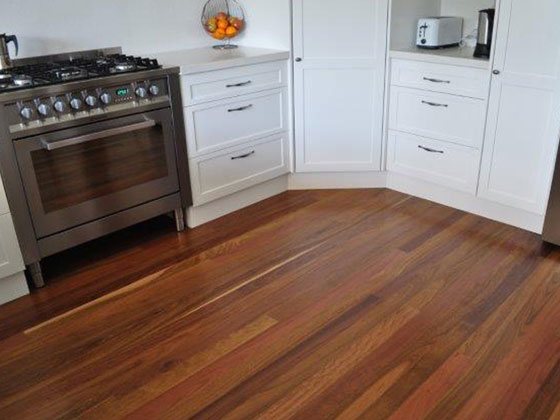 Ironbark floor boards